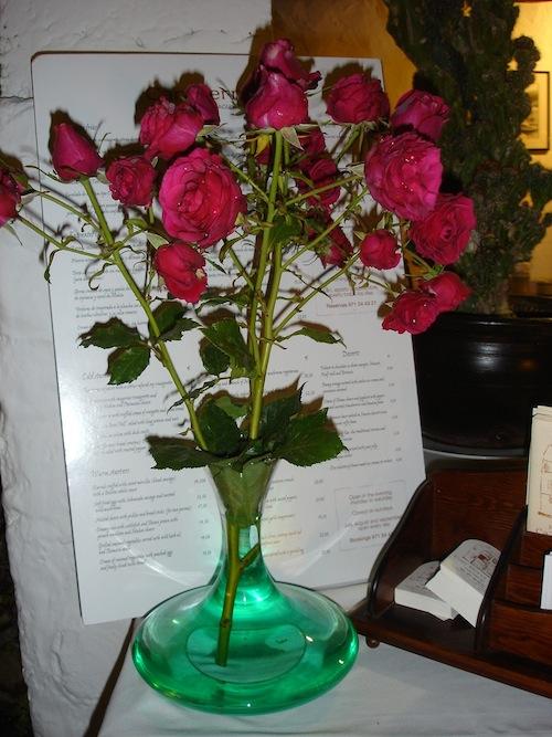 florero decantador