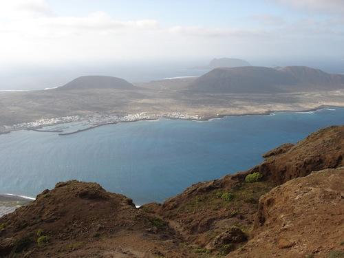 Volcanes de Isla La Graciosa
