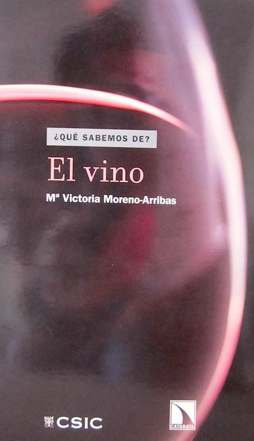 Portada del libro ¿Qué sabemos de? El vino
