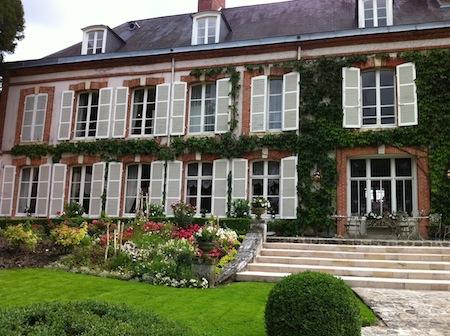 La Maison Belle Epoque vista desde el jardín