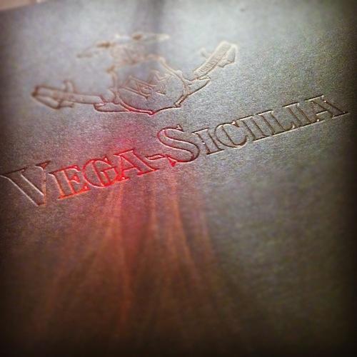 Vega Sicilia, única (1)