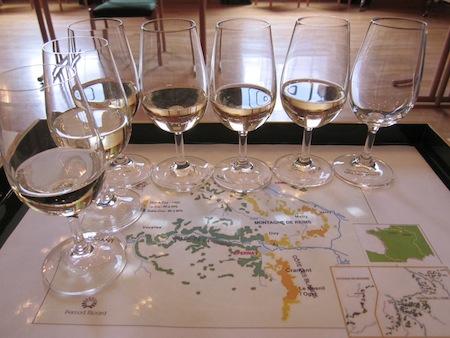 Cata de vinos de distintas procedencias y uvas