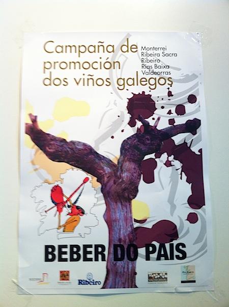 cartel viños galegos