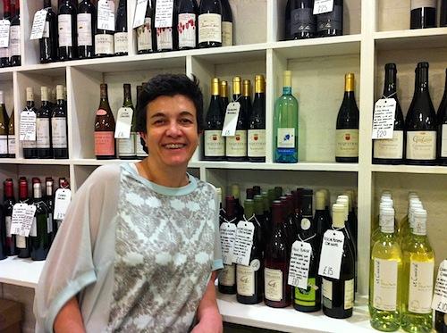 Muriel Chatal, propietaria de Boroughwines