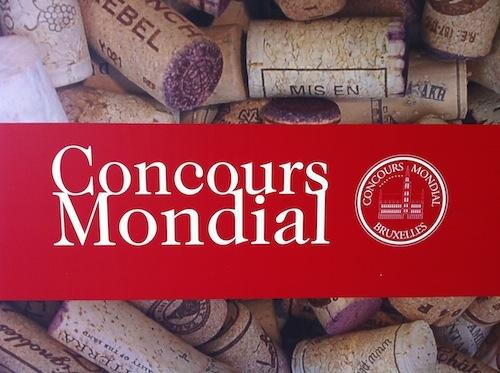 Vinos premiados en Concours Mondial de Bruxelles 2012