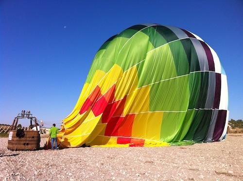 Fin del viaje en globo foto-por-cristina alcala
