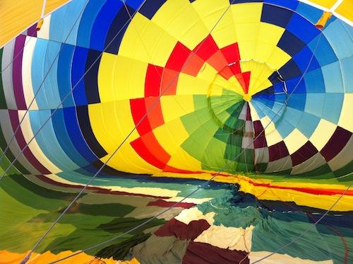 El globo por dentro...foto-por-cristina alcala