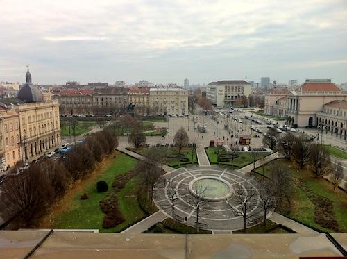 Estación de tren de Zagreb desde el Hotel Esplanade foto-por-cristina-alcala
