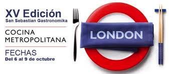 Londres, ciudad invitada en San Sebastián Gastronomika 2013
