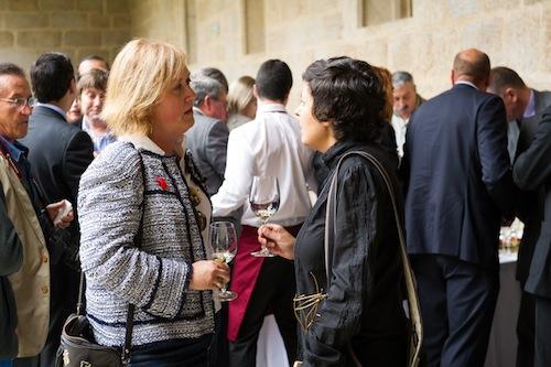 Con la enóloga Cristina Mantilla