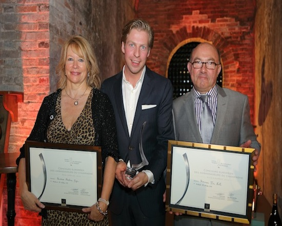 Nuevo Embajador Europeo del Champagne 2013