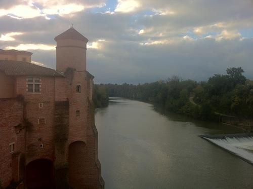 Abadía Saint Michel y río Tarn