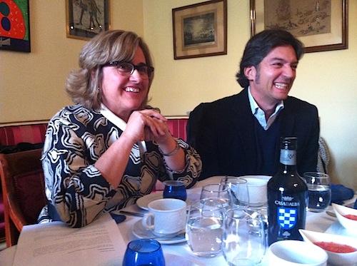 Brígida Jiménez y Rafael Calvo, asesores de Casa de Alba