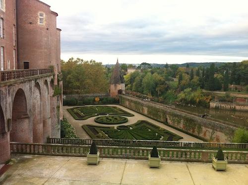 Jardines del Museo Toulose-Lautrec