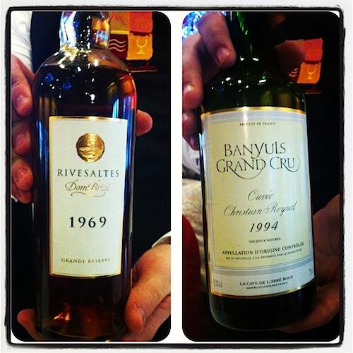 Vinos dulces de Banyuls y Rivesaltes