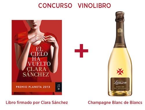 Concurso Vinolibro con Clara Sánchez
