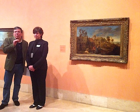 Los historiadores Juan Pan-Montojo y Teresa de la Vega