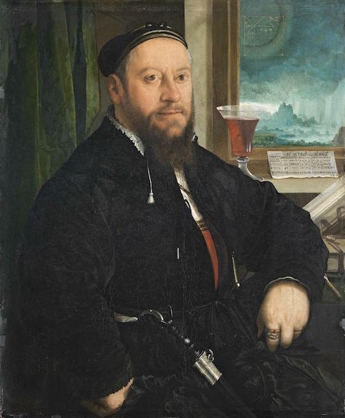 Retrato de Matthaus Schwarz de Amberger