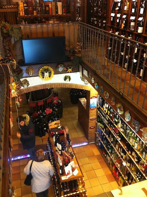 ¿Dónde compramos el vino?