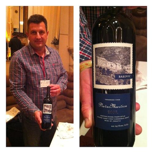 Bakovic, vinos de croacia