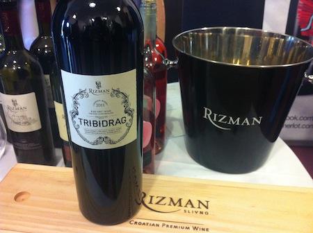 Tridibarg de Rizman, Vinos de Croacia