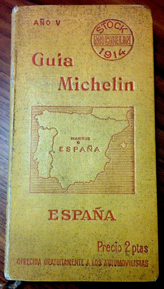 Guía Michelin 1914