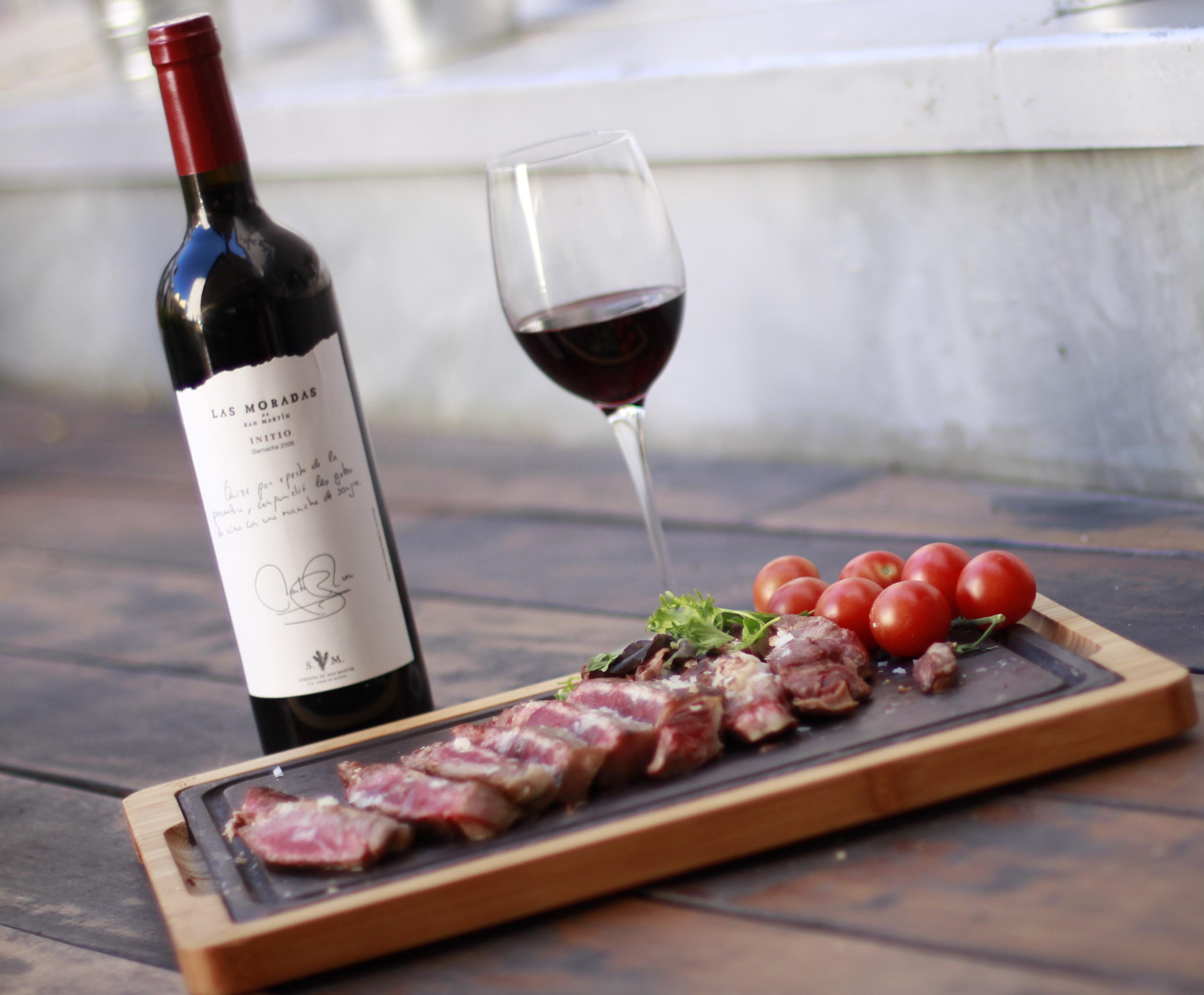 Maridajes de vinos y carnes