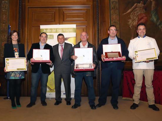 Premiados Aceite Bajo Aragón 2015