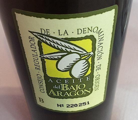 Mejores aceites del Bajo Aragón