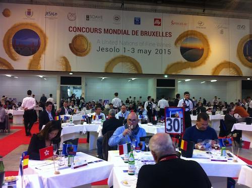 Premios Concours Mondial de Bruxelles 2015