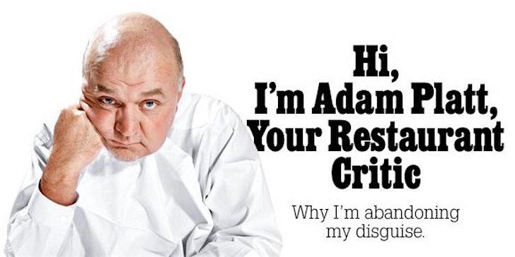 El crítico de restaurantes en Nueva York