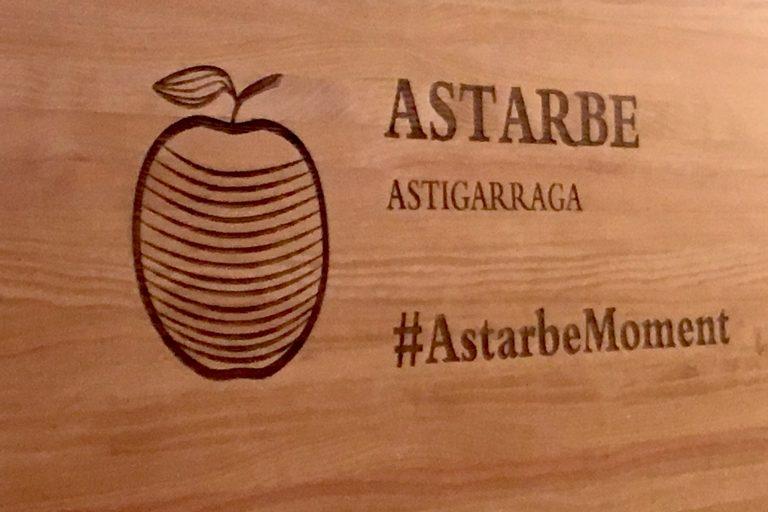 Sidrería Astarbe, natural y vasca